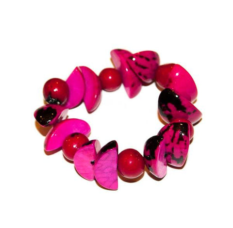 Ava Girls Bracelet Hot Pink