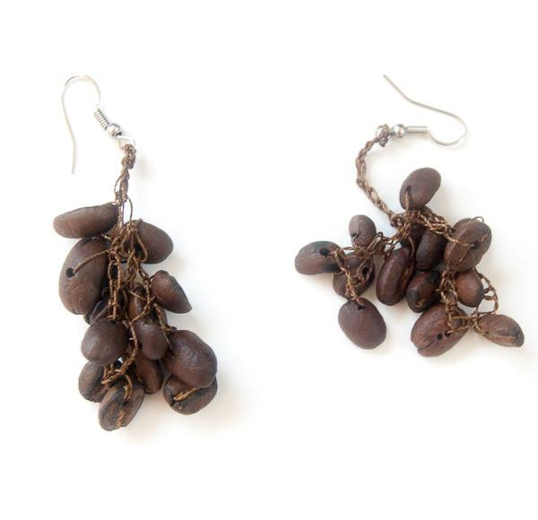 Coffee Earrings