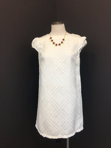 Cap Sleeve Dress Ivory