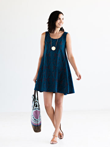 Bellini Dress in Teal