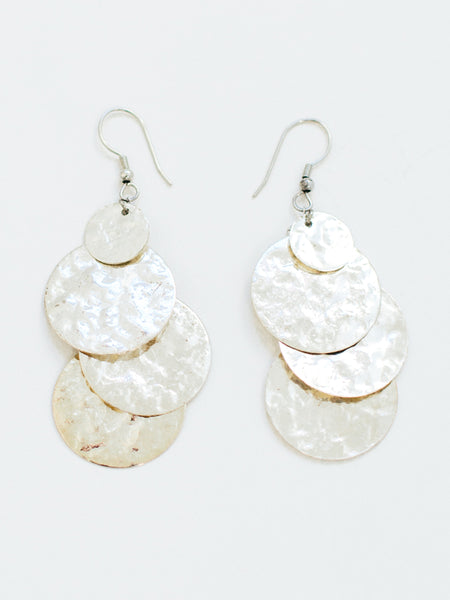 Deco Disc Earrings