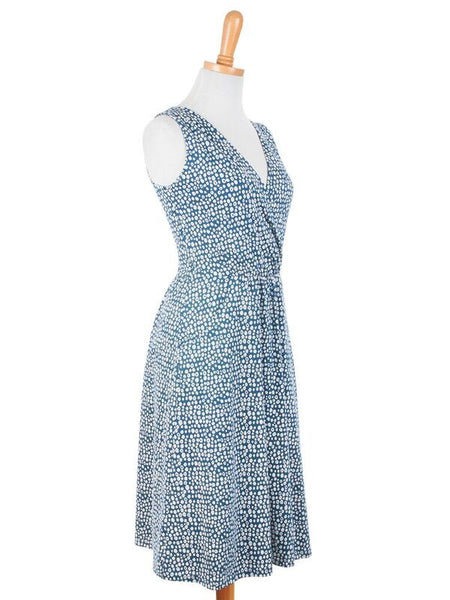 Talking Points Dress Blue