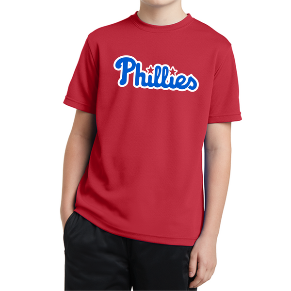L&W Baseball - T-Ball Phillies Performance Tee