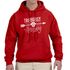 Tri-Valley Archery - Heavy Blend Hooded Sweatshirt - Red