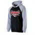 TVGSA Raglan Hooded Sweatshirt - Black