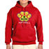 TV Bulldog Softball - Hooded Sweatshirt - Red