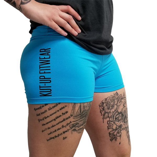 WOD Shorts - Kut-Up Blue