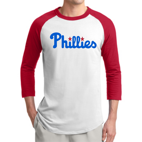 L&W Baseball - T-Ball Phillies 3/4 Sleeve