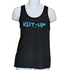 Kolor Fade Unisex Tank - Charcoal/Solid Black