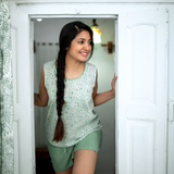 Galee – गली Short Pyjama Set in Sage Green