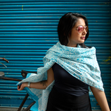 Galee – गली Scarf in Island Blue