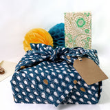Monsoon - मानसून Reusable No Waste Fabric Gift Wrap 52cm x 52cm