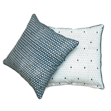 Monsoon - मानसून Set of 2 Cushion Covers in indigo and metallic gold