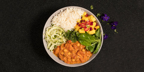 Butternut Squash Curry Buddha Bowl