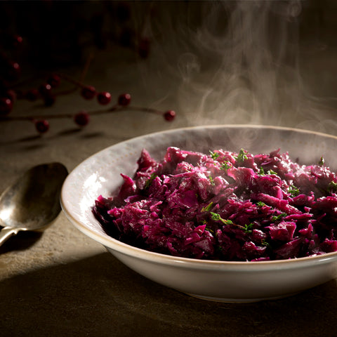 Festive Braised Red Cabbage