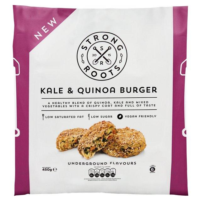 Gourmet frozen ready meals delivered direct. Vegetarian Kale & Quinoa Burgers from Thyme.