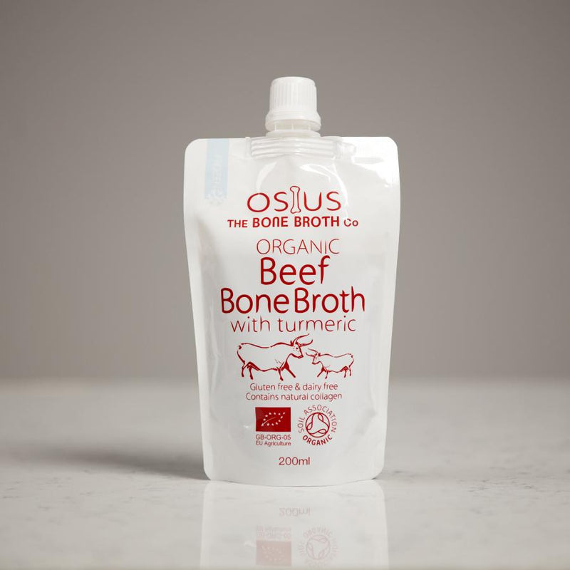 Osius Organic Beef Bone Broth with Turmeric - Thyme