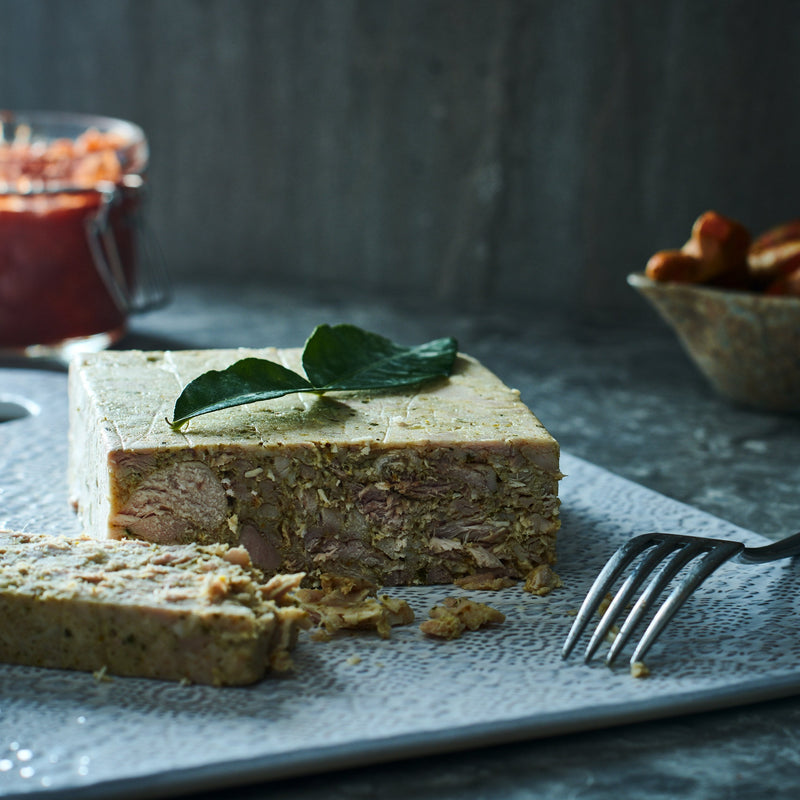 Chicken, Kaffir Lime & Coconut Terrine