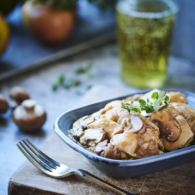 Chicken Casserole with Mushroom & Cider