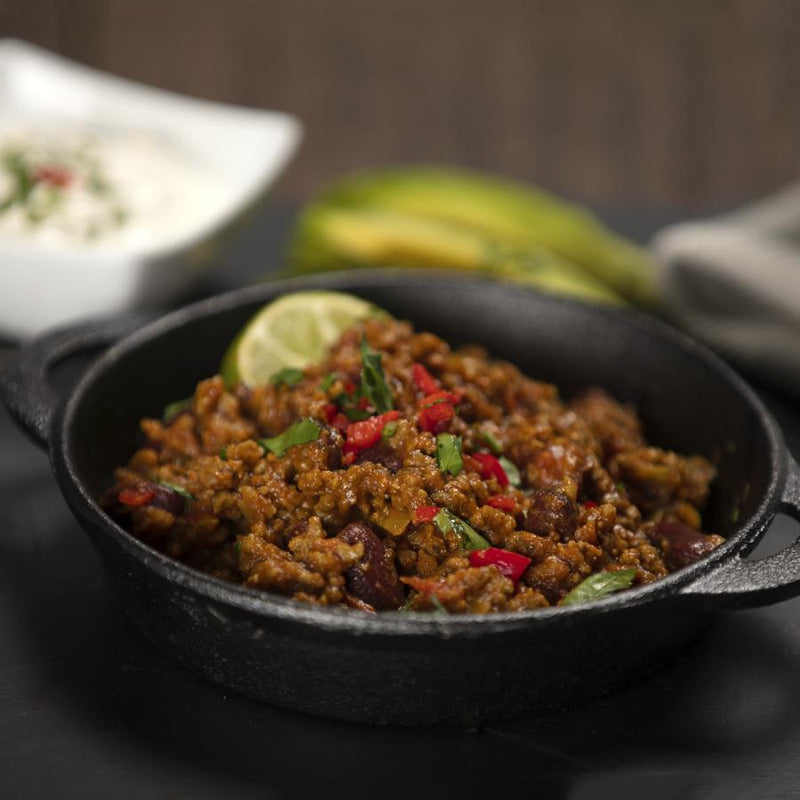 Gourmet frozen ready meals delivered direct. Classic Chilli Con Carne from Thyme