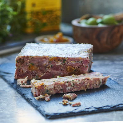 Ham Hock, Fig & Apricot Terrine