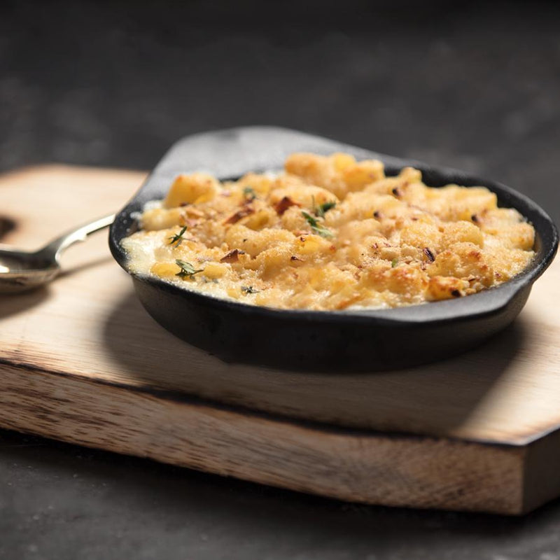 Gourmet frozen ready meals delivered direct. Macaroni Cheese from Thyme.