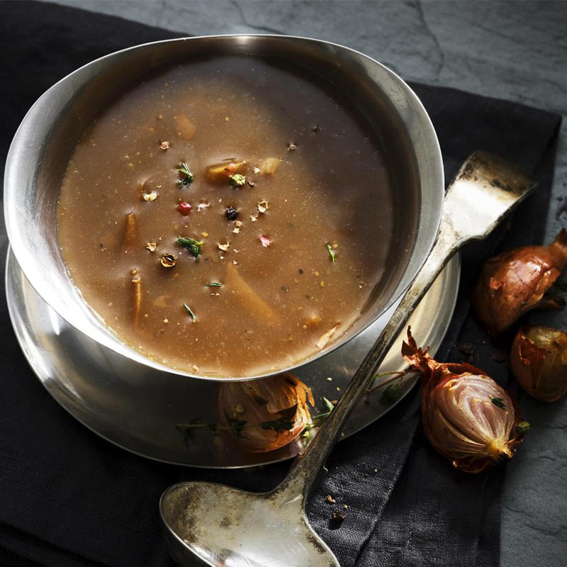Caramelised Onion & Ale Gravy - Thyme