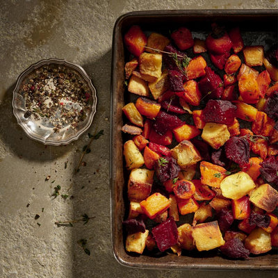 Roast Root Vegetables (V+)