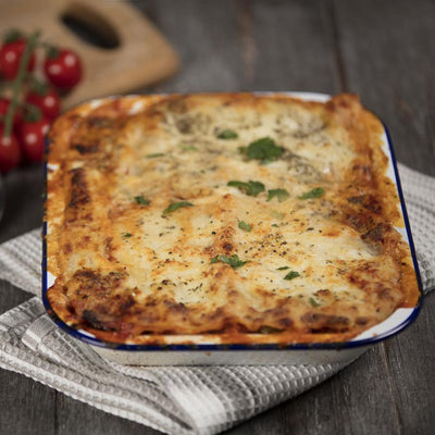 Roasted Vegetable Lasagne - Serves 1