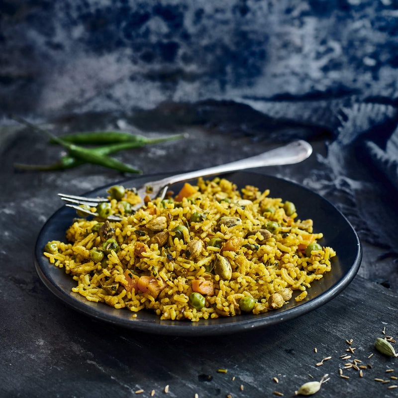 Gujarati Vegetable Rice (V+)