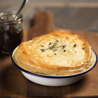 Potato, Leek & Cheese Pie
