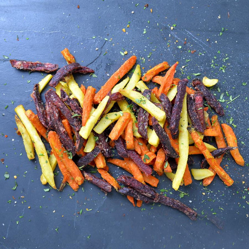Mixed Root Vegetable Fries (V+) - Thyme