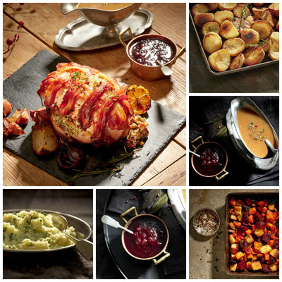 Stuffed Turkey Roast Dinner for Two