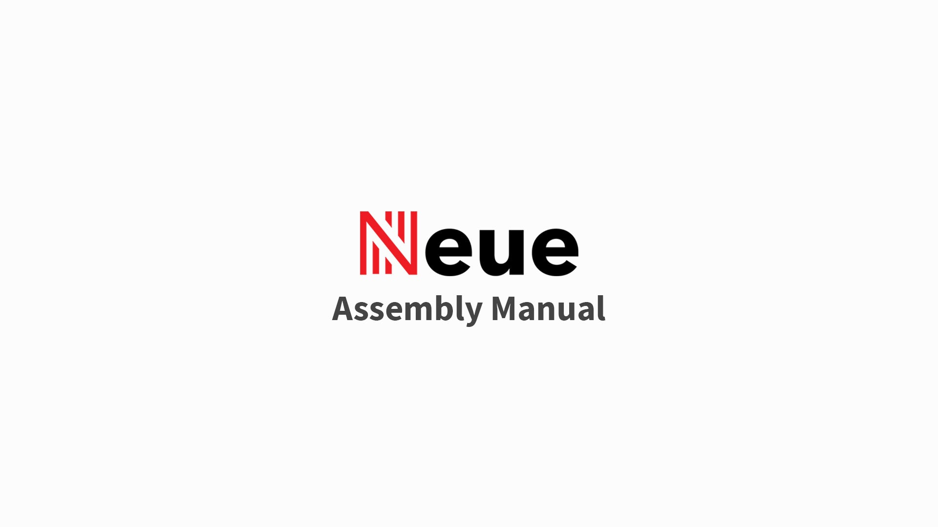 NeueChair Assembly Guide