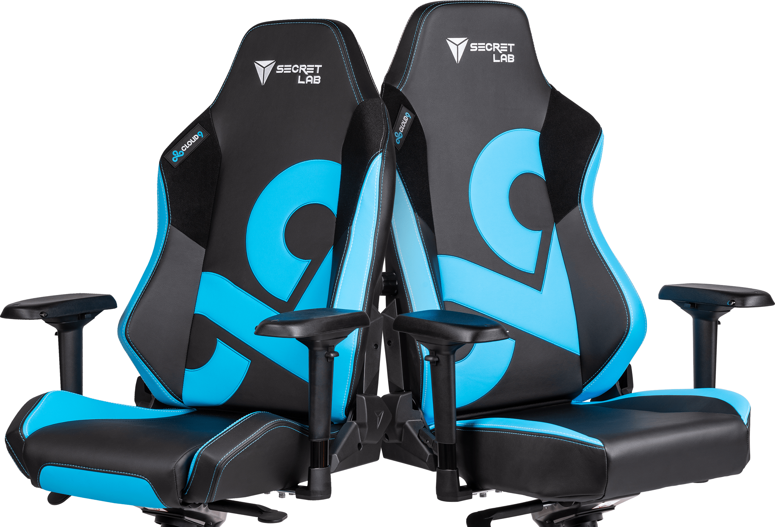 Secretlab x Cloud9 - OMEGA and TITAN Special Edition Gaming Chairs