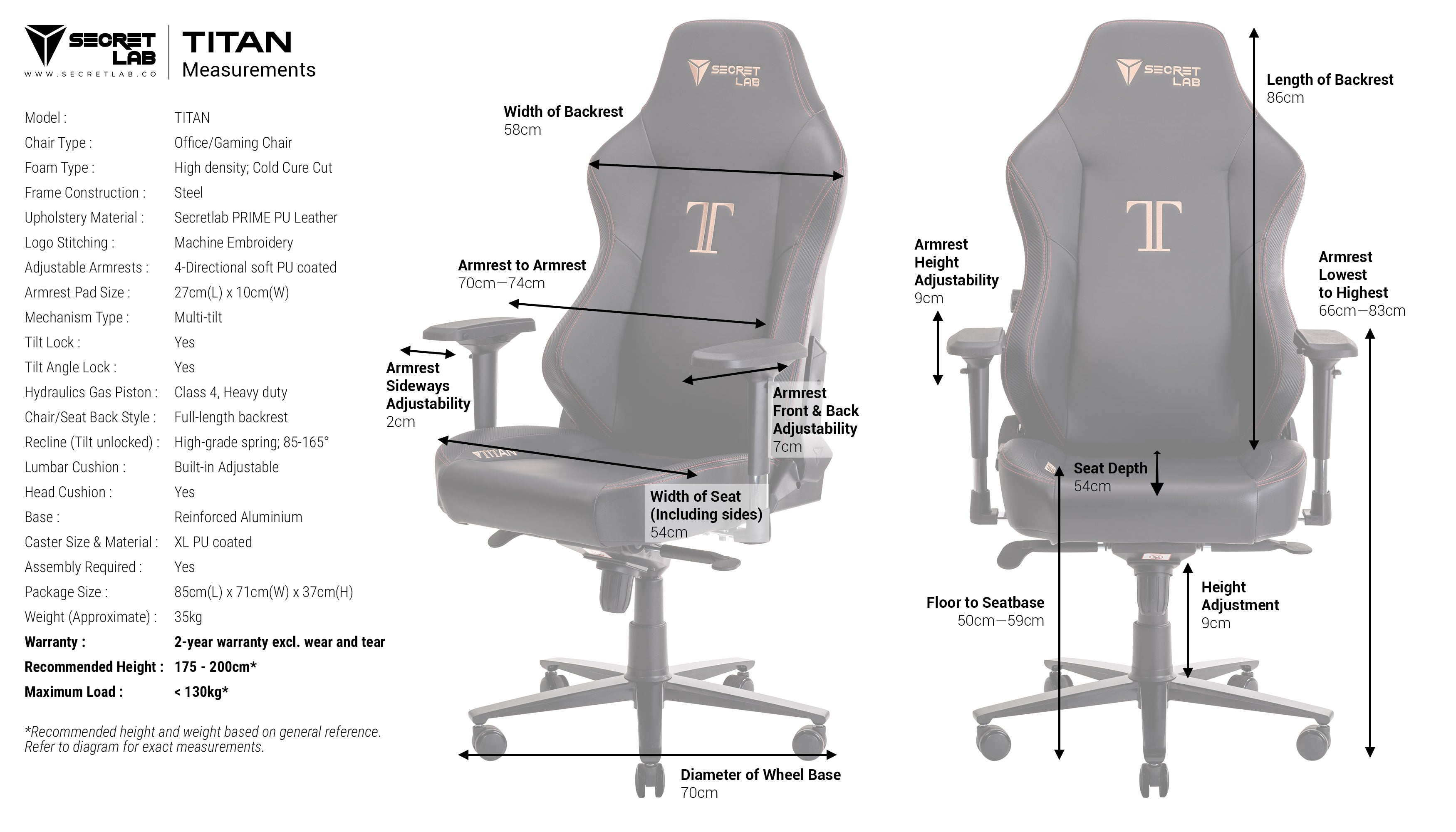 Click Here To Find Out The Dimensions And Specifications Of The Chair.