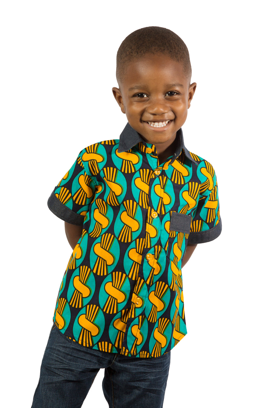 Boys Lincoln Collar Shirt