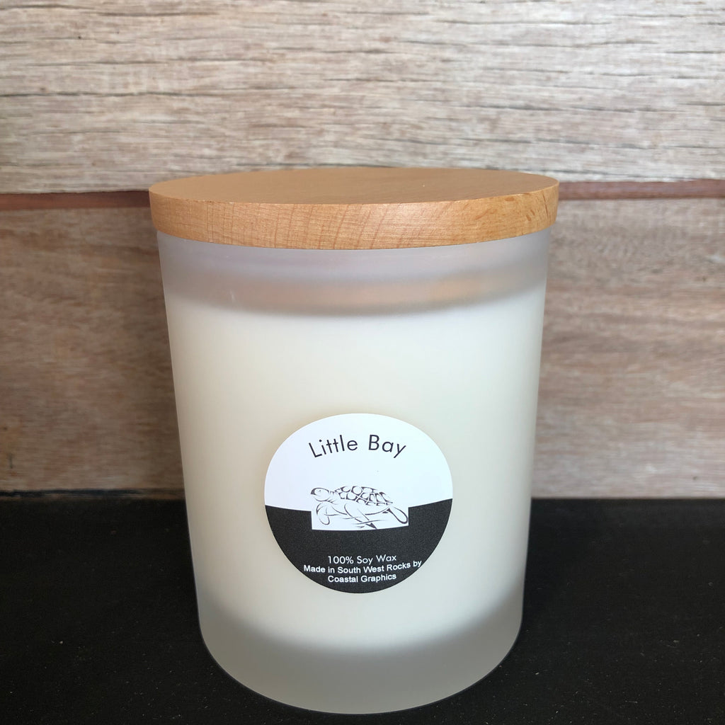 LITTLE BAY Scented Soy Candle Large Glass