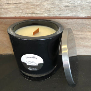 NAUTILIS Scented Soy Candle Wooden Wick