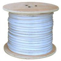 Cable 500 Ft. Spool White