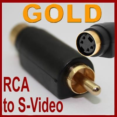 Connector S-Video to RCA Video Converter