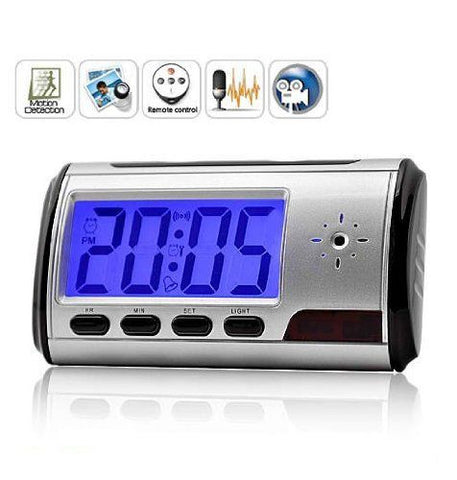 SPY CLOCK 2MP