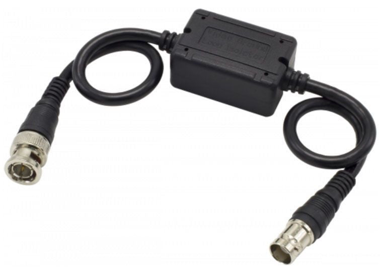 Video Ground Loop Isolator for Surveillance