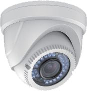2MP TVI H-Series 1080P Vari-Focal Turret Camera White