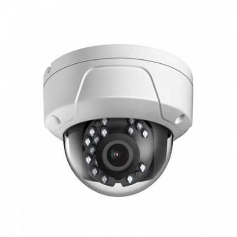 2MP HD TVI Vandal Proof EXIR WDR Glass Dome Camera, 2.8mm lens, White