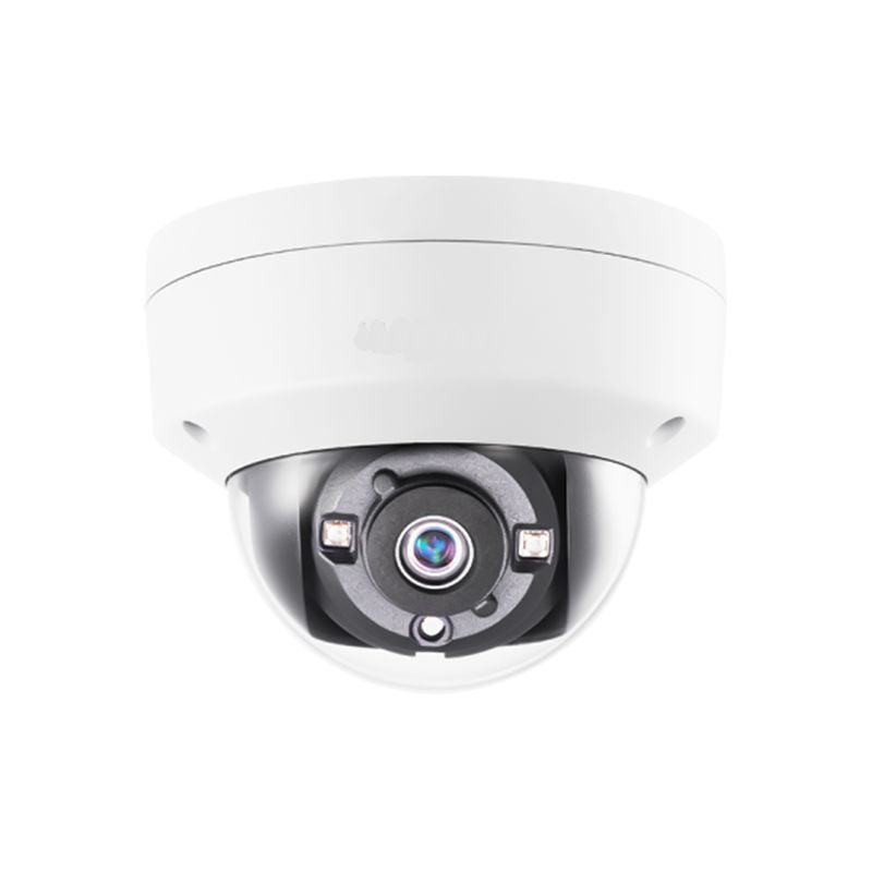 5MP HD TVI Vandal Proof EXIR Glass Dome Camera, 2.8mm lens, White