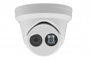6 Megapixel IP camera Turret Dome, 2.8mm Wide View, WDR 120DB Wide Dynamic Range