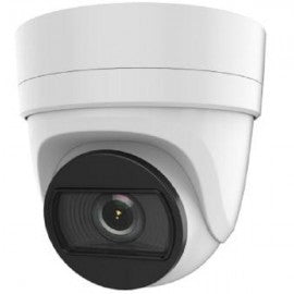6 Megapixel IP camera Turret Dome, Motorized Zoom 2.8mm-12mm Wide View