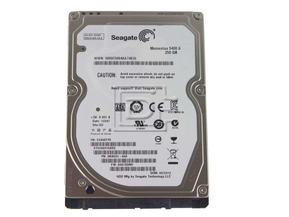 "3.5"" Full SATA 3.0 6Mbps DVR/NVR rated Hard Disk Drive"