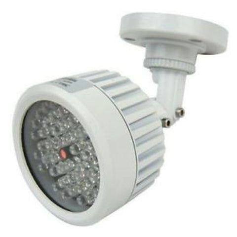 Infrared LED Illuminator 30 Weatherproof Light up 30ft to 45ft at night with invisible infrared light, 12VDC